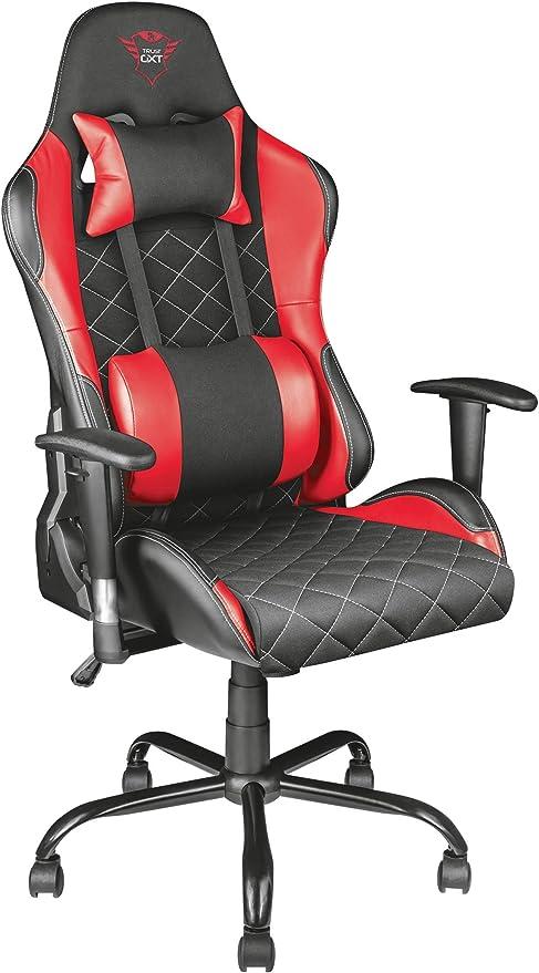 Trust Gaming GXT 707R Resto - Silla para Gaming, Color Rojo ...