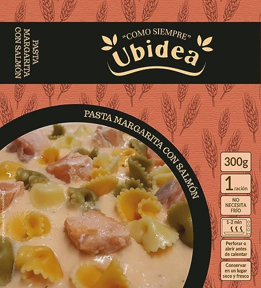 Pasta Margarita con Salmón - Ubidea - 3 platos