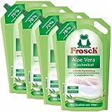 4 x detergente Aloe Vera rana 1,8 litros - Sensibilidad con Aloe Vera