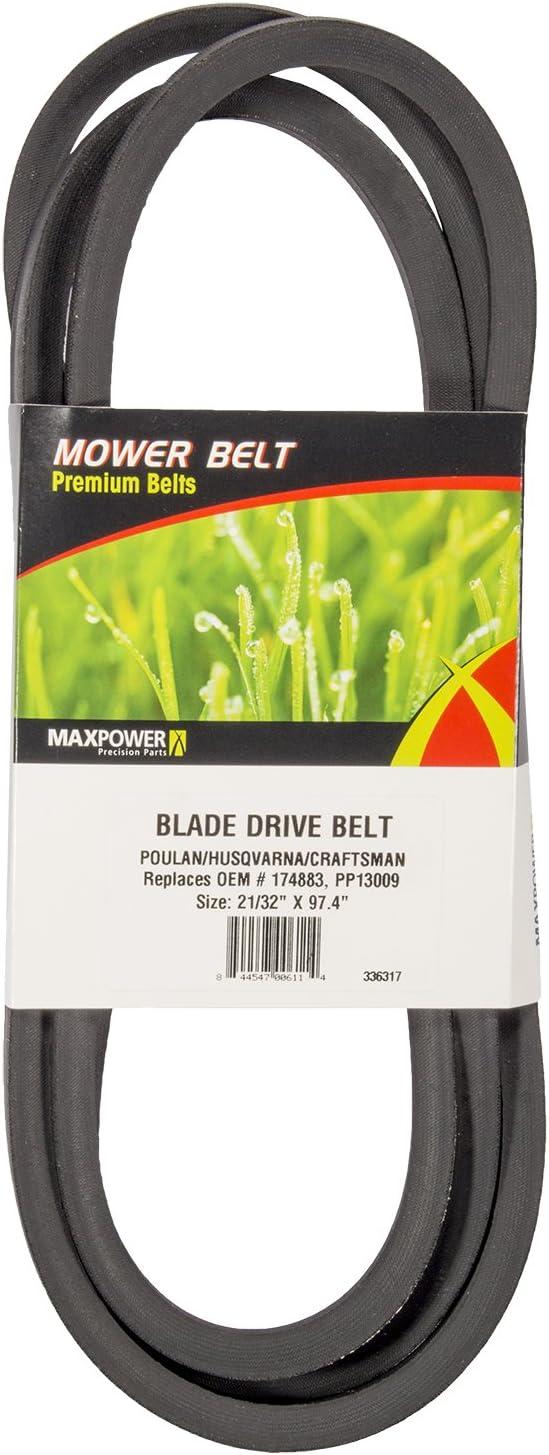 Amazon.com: Maxpower 42 in. Rider Blade Cinturón de disco ...