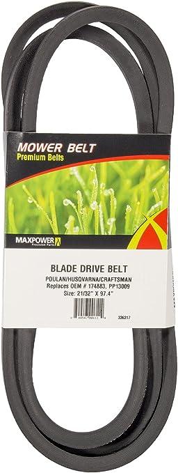 Craftsman 174883 Lawn Tractor Blade Drive Belt Genuine Original Equipment Manufa