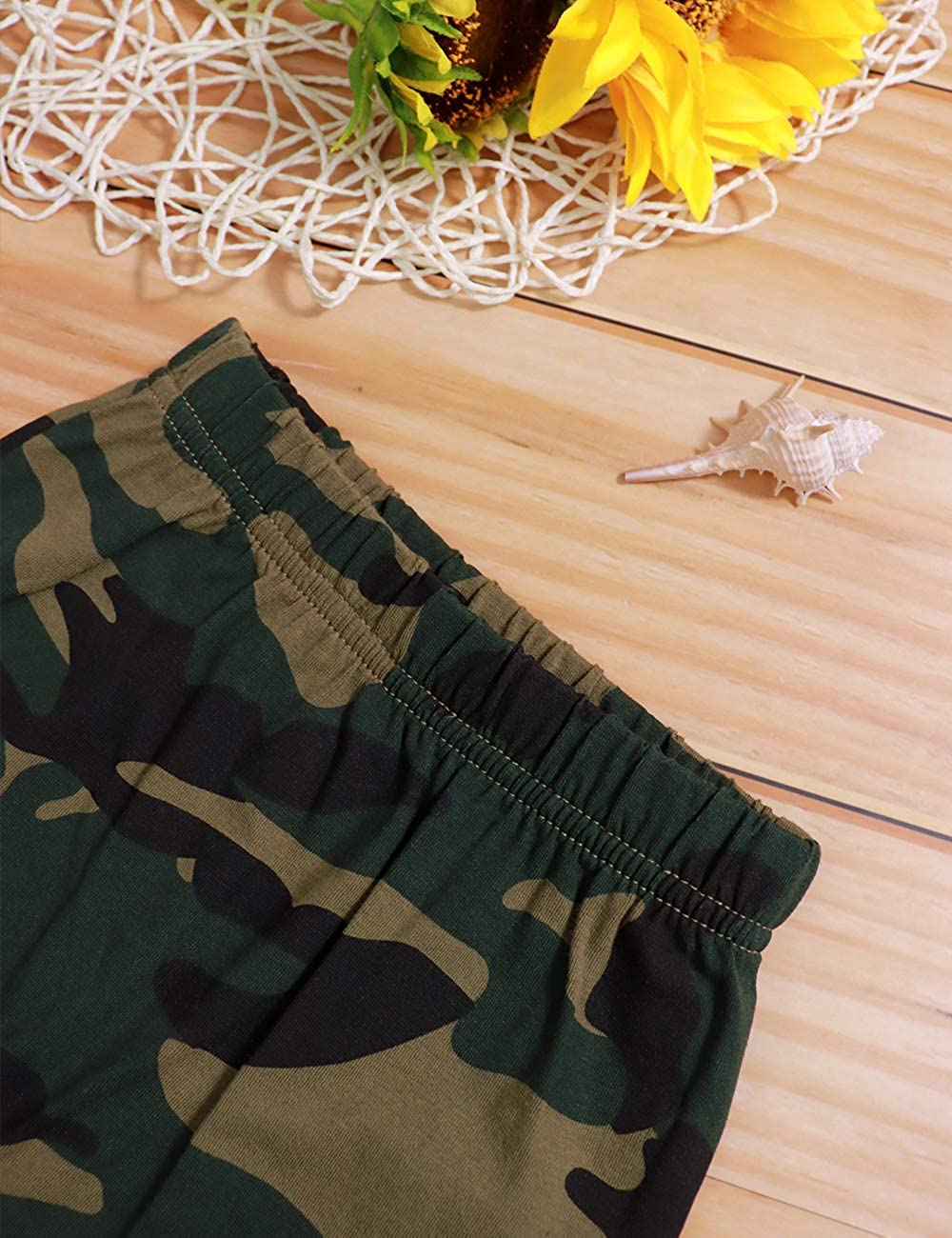 Toddler Baby Boy Clothes Ain/'t No Mama Like The One I Got Vest and Camouflage Short Outfits Set