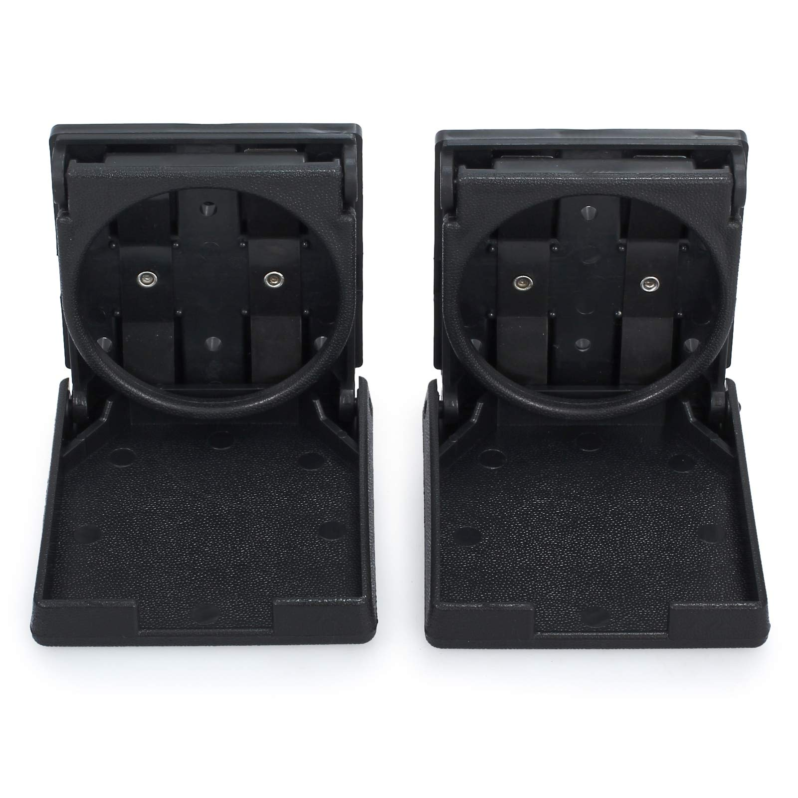 SHA Cup Holder Table for Car - 2Pieces Folding Cup Holder Plastic Beverage Drinking Foldable Cup Holders for Car Truck Van Marine Boat Foosball Table Accessory 1 PCs
