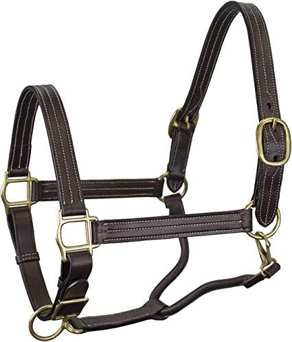 Derby Originals Padded Comfort Nylon Fleece Horse Halter