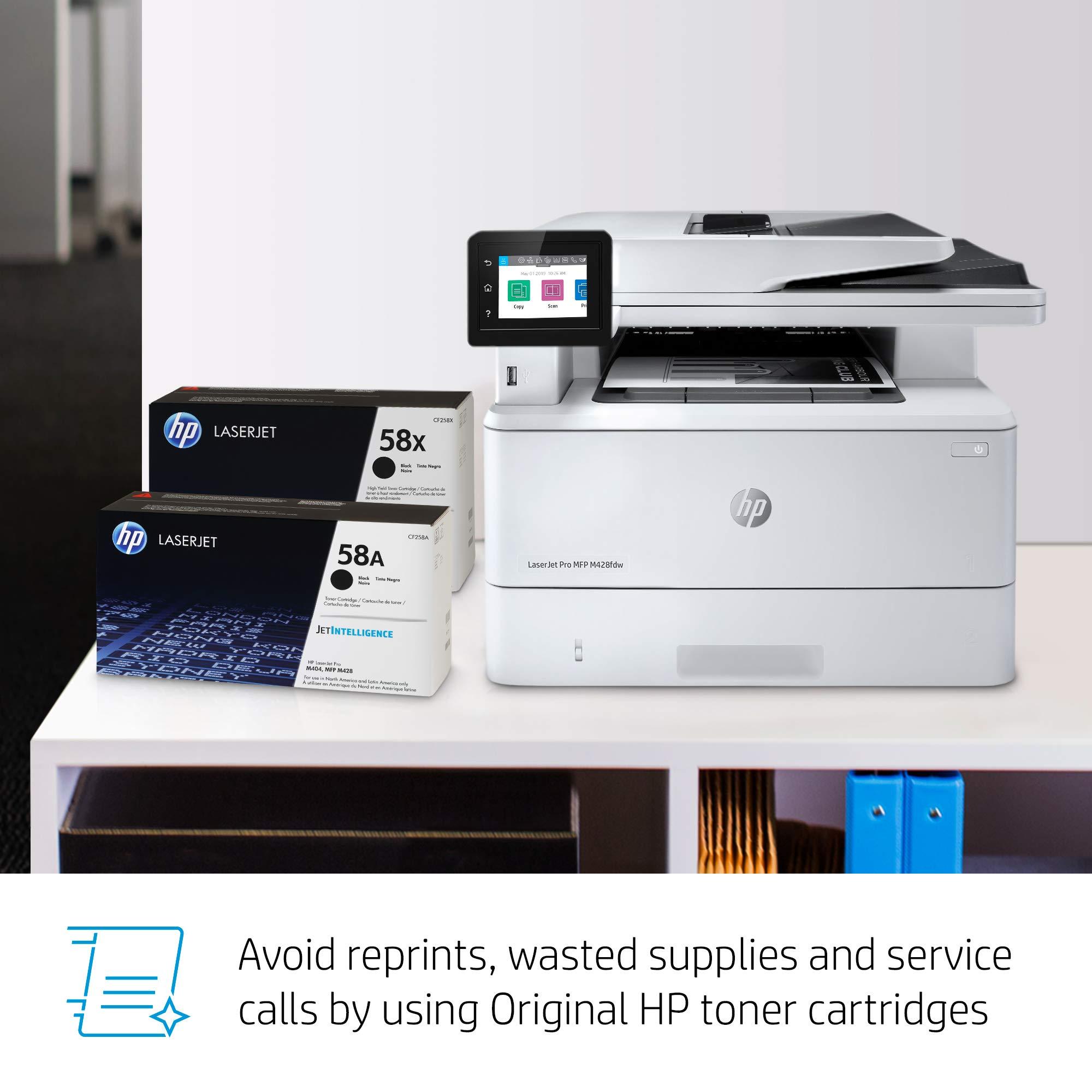 HP LaserJet Pro Multifunction M428fdw Wireless Laser Printer (W1A30A) by HP (Image #13)
