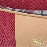 Scruffs Dog Highland Box Bed, Large, Red