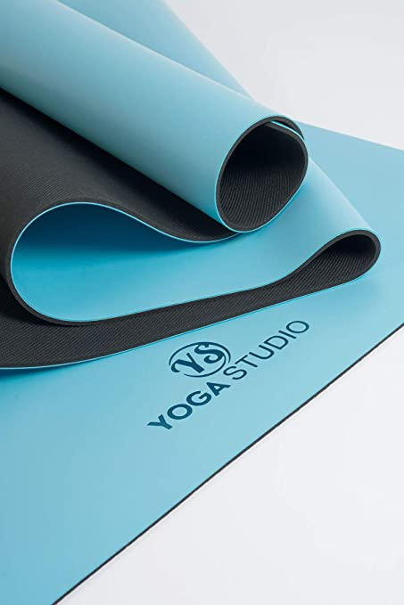 YogaStudio - Esterilla para Yoga (4 mm), Azul: Amazon.es ...