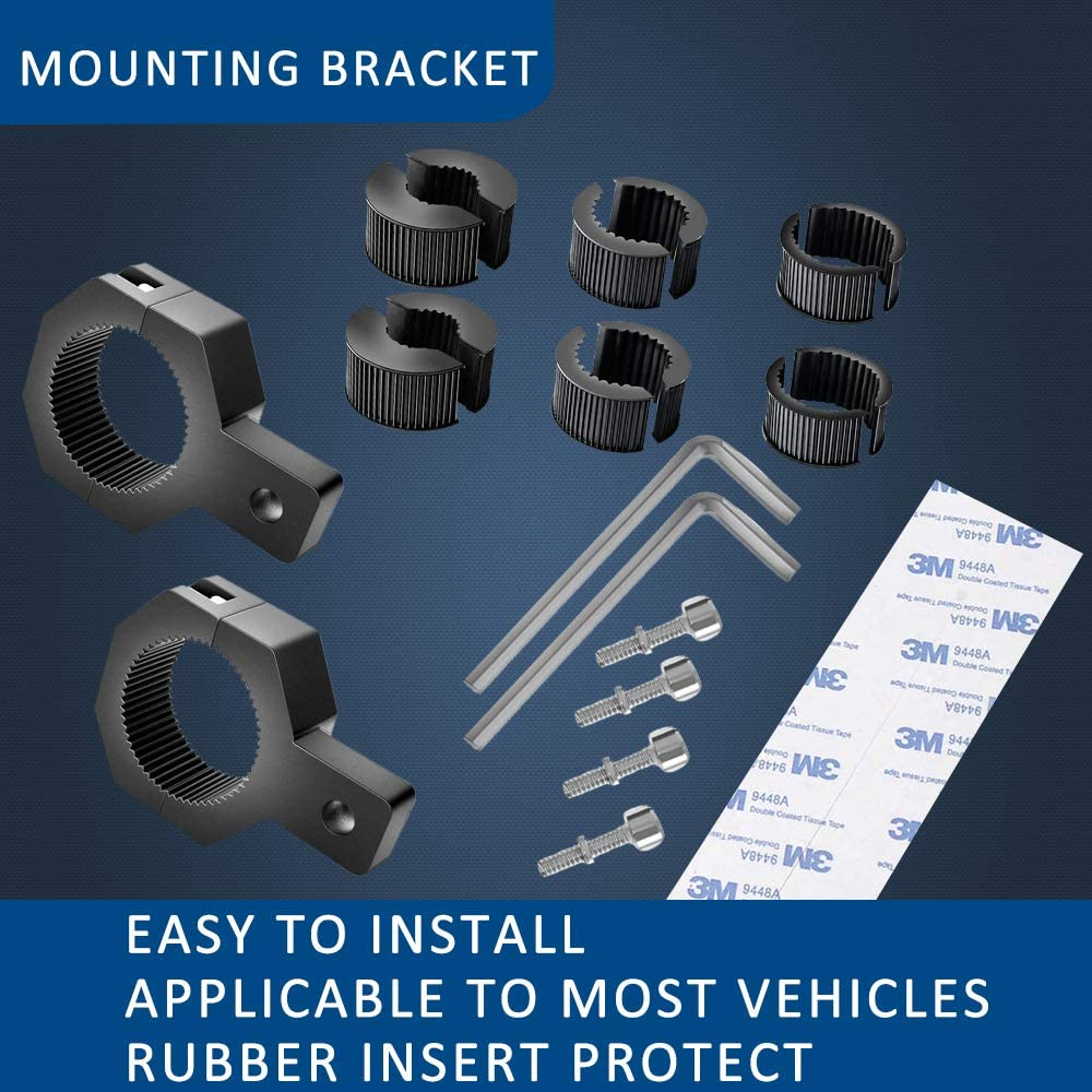 Adjustable Light Bar Mounting Brackets BLIAUTO Led Light Bar Bracket
