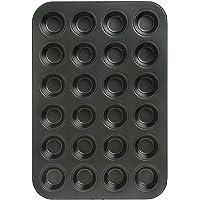 Wiltshire Mini Muffin Pan, 24cm, Charcoal Grey