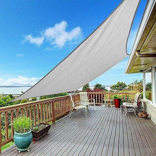 Shade Beyond 12'x12' Sun Shade Sail Rectangle Canopy Sail Sunshade UV Block