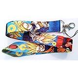Dragonball Dragon Ball Z Blue New Key ID Badge Cell Phone Holder Lanyard
