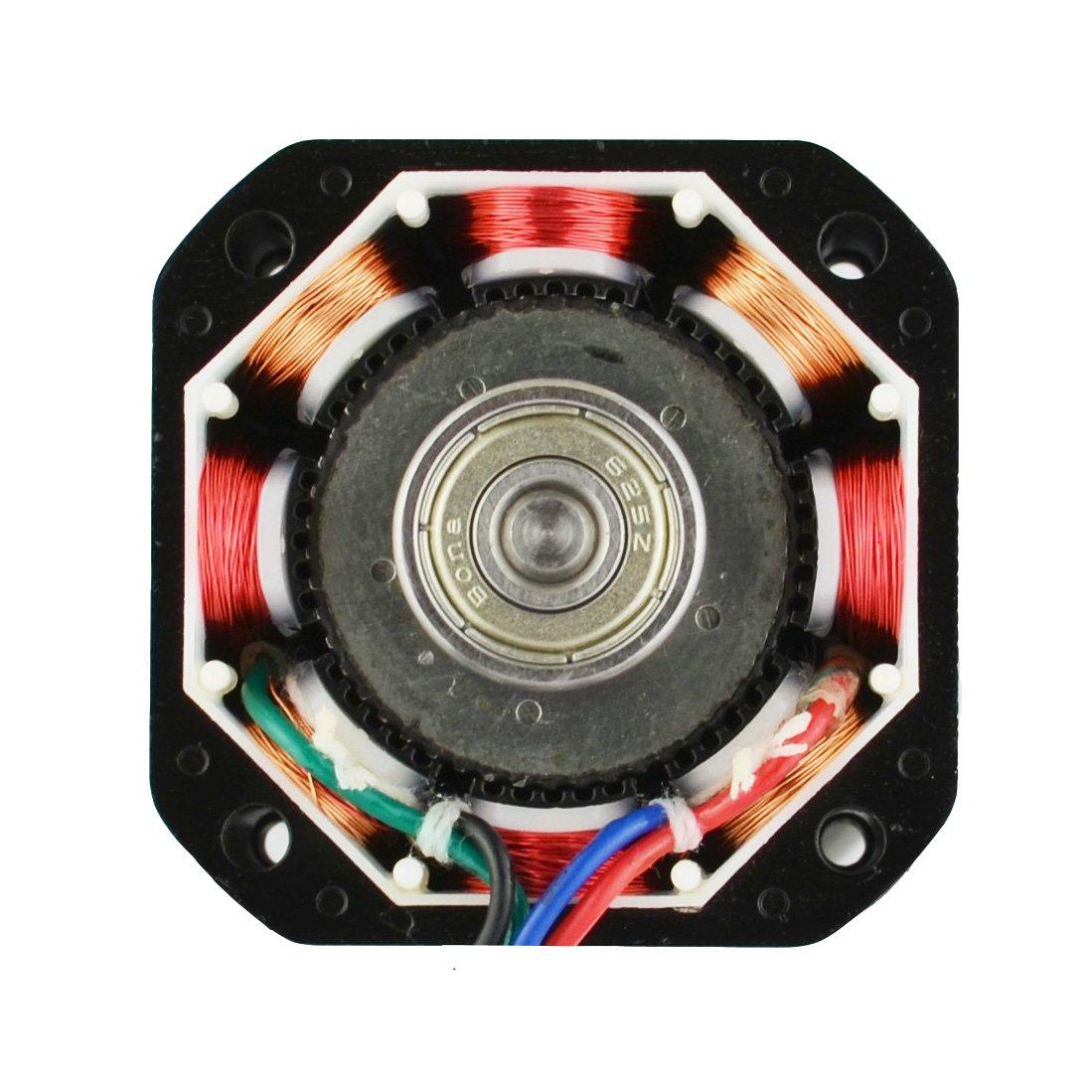 Stepper Motor Nema 17 Bipolar 40mm 64ozin45ncm 2a 4 Wiring Reprap Prusa Mendel Build Manual Nextday Lead 3d Printer Hobby Cnc Camera Photo