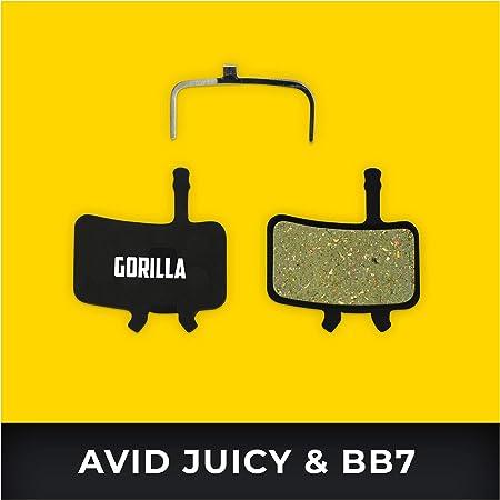 2 Paar MTB Fahrrad Scheibenbremsen Bremsbeläge Für Avid BB7 Hydraulisch /& juicy3