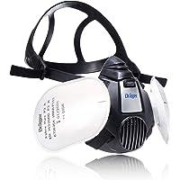 Dräger X-plore® 3500 herbruikbare halfgelaatsmasker + 2 Pure P3 filters voor bouw   DIY-Set   Size S