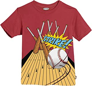 product image for City Threads Little Boys' Strike Tee in Ketchup