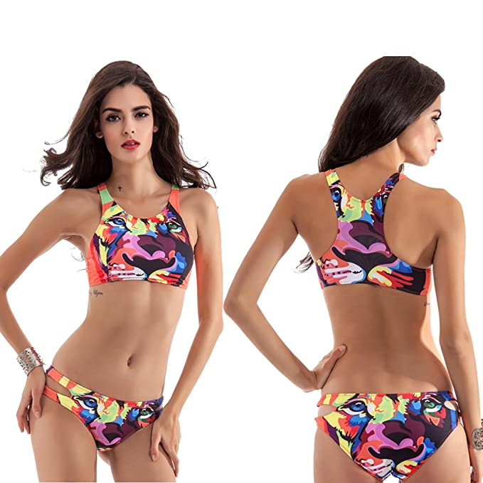 f483b58b7c Water Princess Fashion Sexy Swimwear Women's Bikini Set For Women Push-Up  Padded Swimsuit Bathing