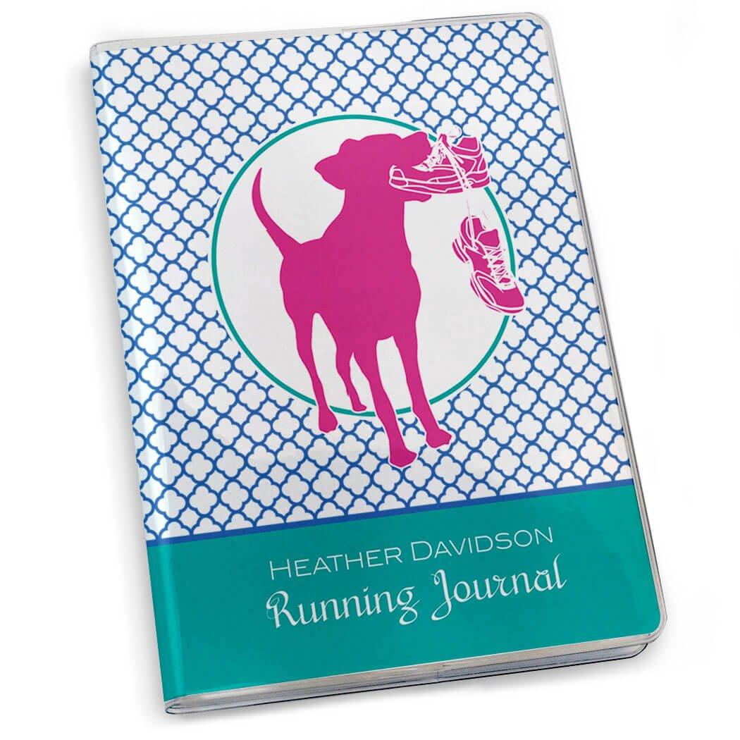 犬四つ葉模様Runningジャーナル|紙ジャーナルby Gone For A Run |複数の色  Teal Royal Pink B00TIX990M