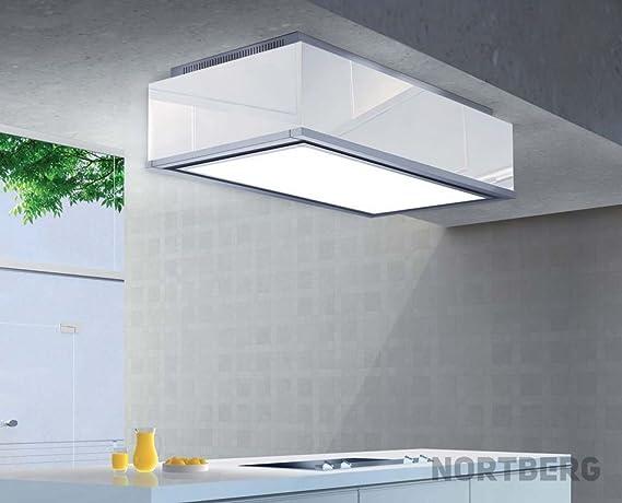 Nort Berg Eclipse Campana extractora, Techo, 90 cm: Amazon.es: Grandes electrodomésticos