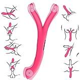 Proxoxo Vibrateur stimulateur Point G Clitoris Femme,le Masseur de Prostate d'Homme 8 Fréquence USB Rechargeables Massage de vibromasseur de Silicone de Lesbienne de Masturbation Féminins Jouet Sexuel