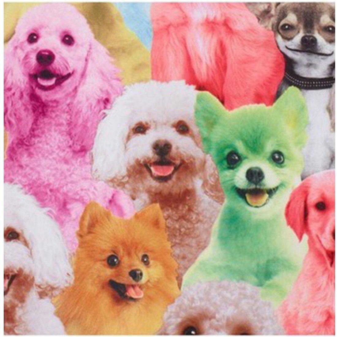 110:Advice Age:2-3years, Dog Little Girls Classical Animals Printed cat Dog Rabbit Sleeveless Summer Dress