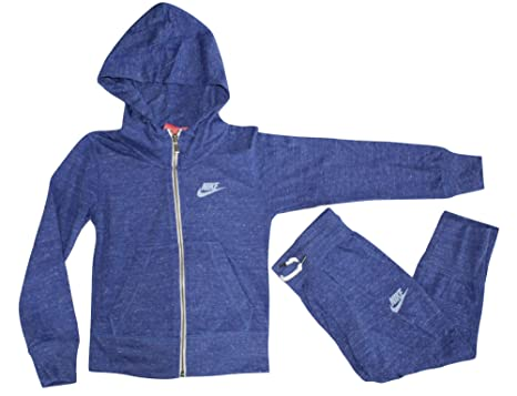 4ccde15c0237 Image Unavailable. Image not available for. Color  Nike Child Girl s Gym  Vintage Zip Hoodie ...