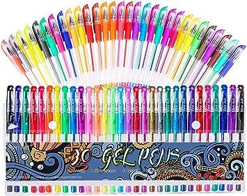 30 Colors Gel Marker Set
