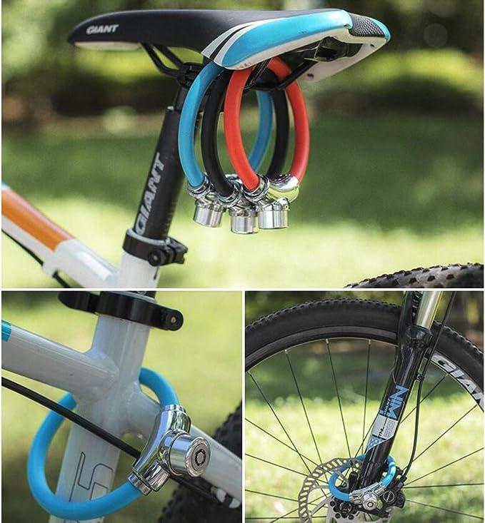 HENGTONGTONGXUN Bloqueo de bicicleta de montaña, antirrobo ...