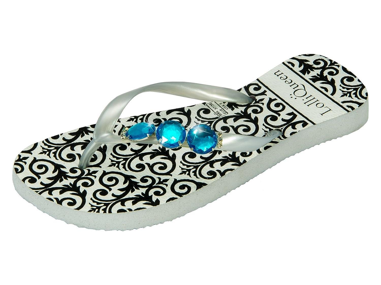 Lolli Queen LQWINGS001 - Zapatilla Baja de Caucho Mujer 37/38 EU|Porto