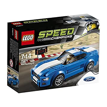 LEGO Speed Champions 75871 Ford Mustang GT Set - Mixed: Amazon.co.uk ...