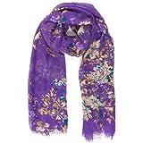 MELIFLUOS DESIGNED IN SPAIN Pañuelos Fular Foulard Mujer Bufandas Estampado Diseño Español 100% Viscosa