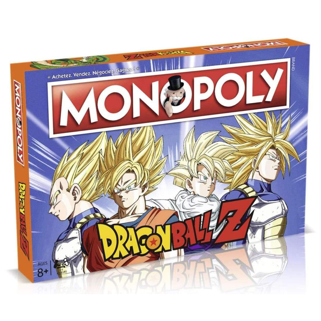 Winning Moves - Monopoly Monopoly Monopoly Dragon Ball Z Version Française - 3700126909962 1fd5ea