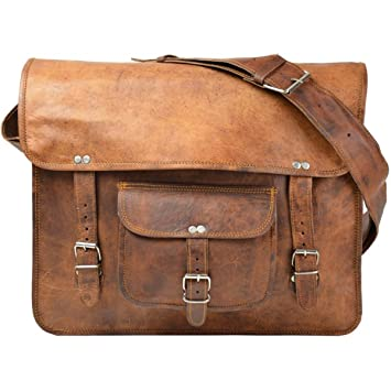 pranjals house Genuine Leather Brown Shoulder Messenger Passport ...