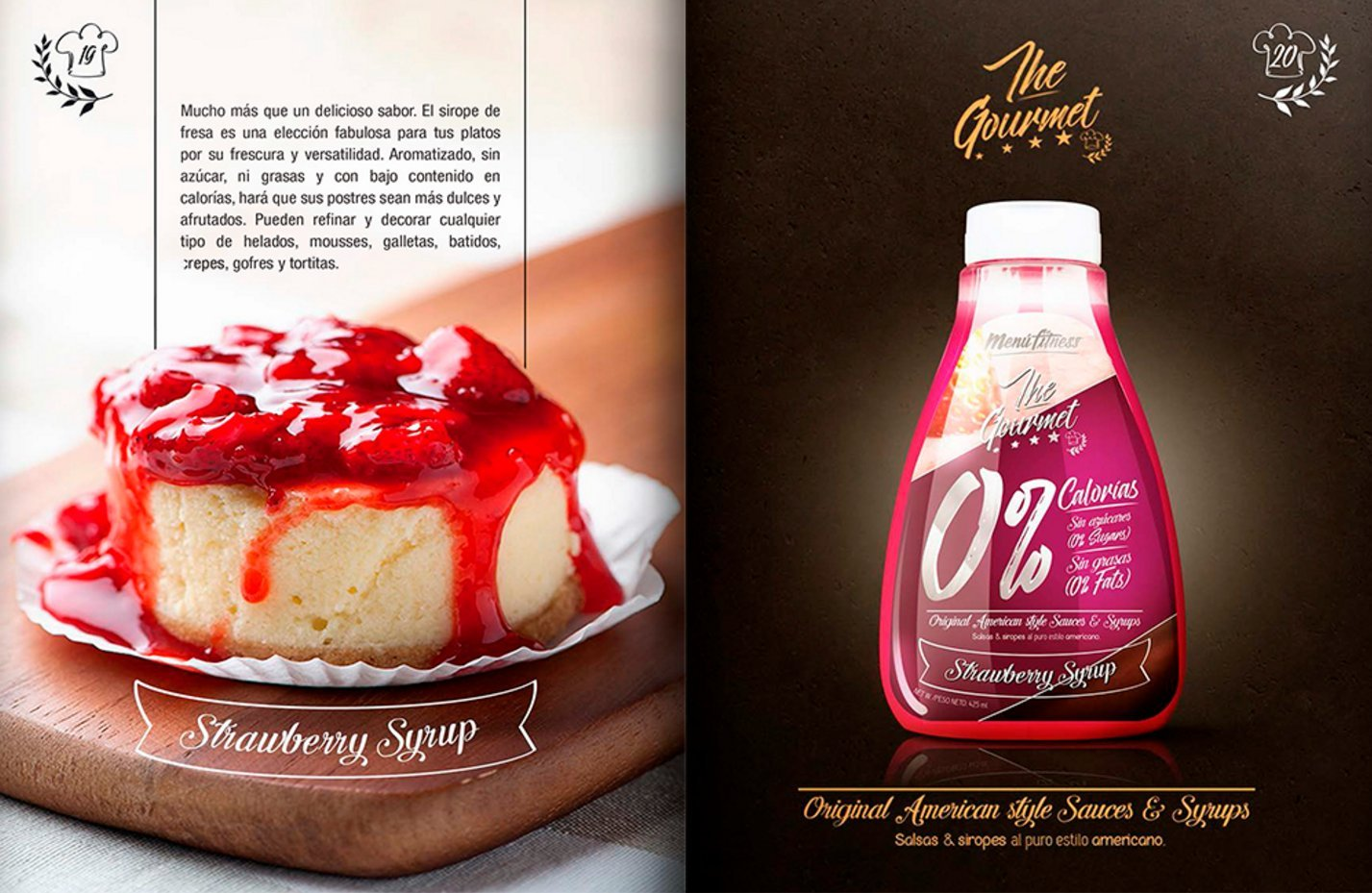 Hypertrophy - The gourmet Sirope - 425ml - Fresa: Amazon.es: Alimentación y bebidas