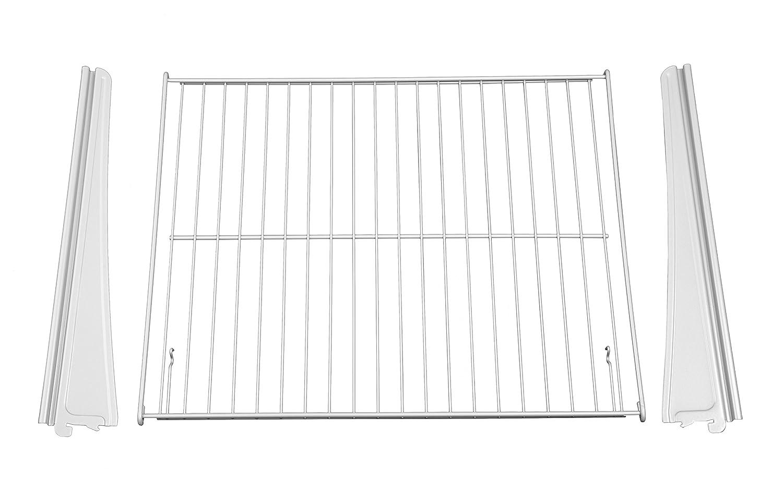 White ClosetMaid 72816 ShelfTrack Drawer Hardware Kit