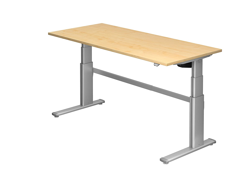 Frisch Ergobasis Schreibtisch elektrisch höhenverstellbar, 180 x 80 cm  WJ58