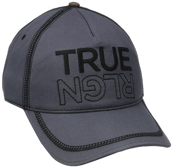 Amazon.com  True Religion Men s Overlock Stitch Baseball Cap cccae72d49f4