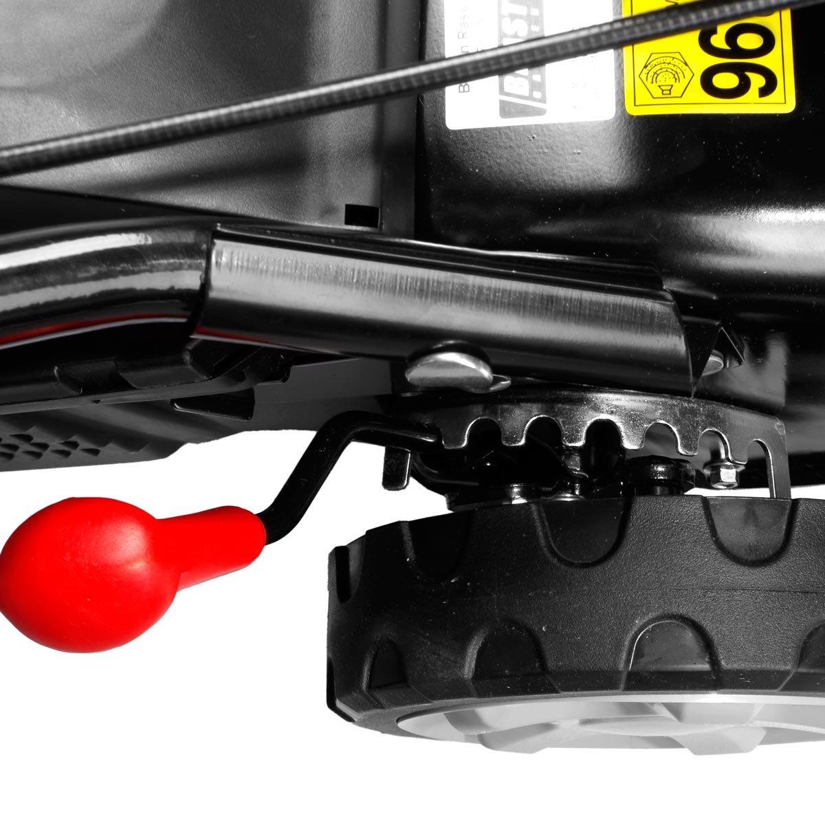 41cm Schnittbreite Stahlgeh/äuse 40L Grasfangkorb Easy Clean 4-Takt Motor-M/äher 3,3PS BRAST Benzin Rasenm/äher 2,4kW
