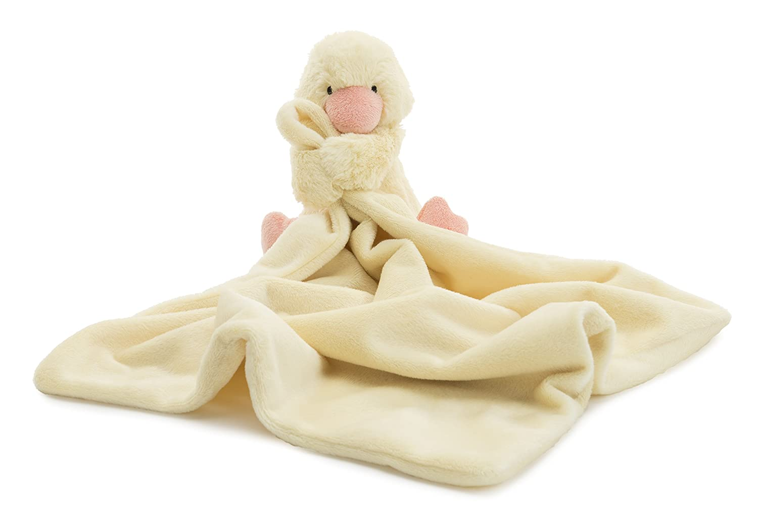 Jellycat Bashful Beau Bunny Soother Baby Security Blanket