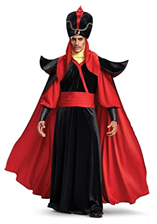 Perfect Disguise Menu0027s Jafar Deluxe Adult Costume, Black, ...