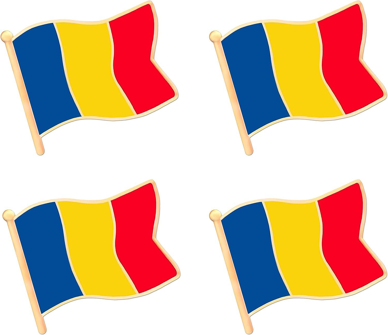 Romania Flag Lapel Pin Romania Pin