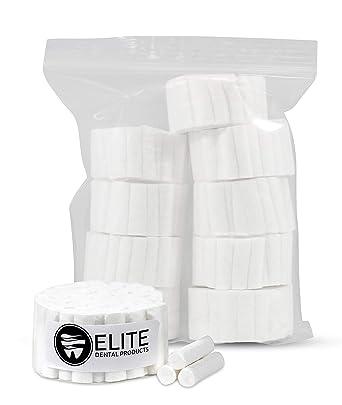 Rollos de algodón #2 medianos de 1.5 pulgadas, no estériles, 100 ...