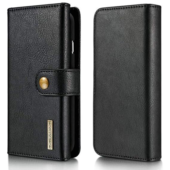 b9170d7e2f8aef for Samsung Galaxy S10 Plus Wallet Case Luxury Detachable Flip Retro  Vintage Leather Handbag Case with