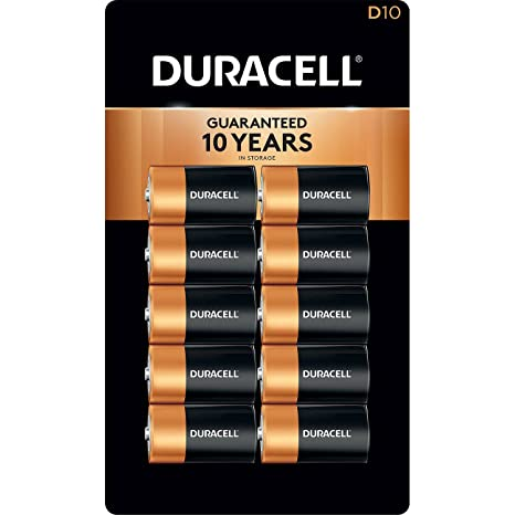 Amazon.com: Duracell pilas alcalinas pilas D (10 Paq ...