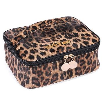 Amazon.com: OXYTRA Bolsa de maquillaje de viaje con ...
