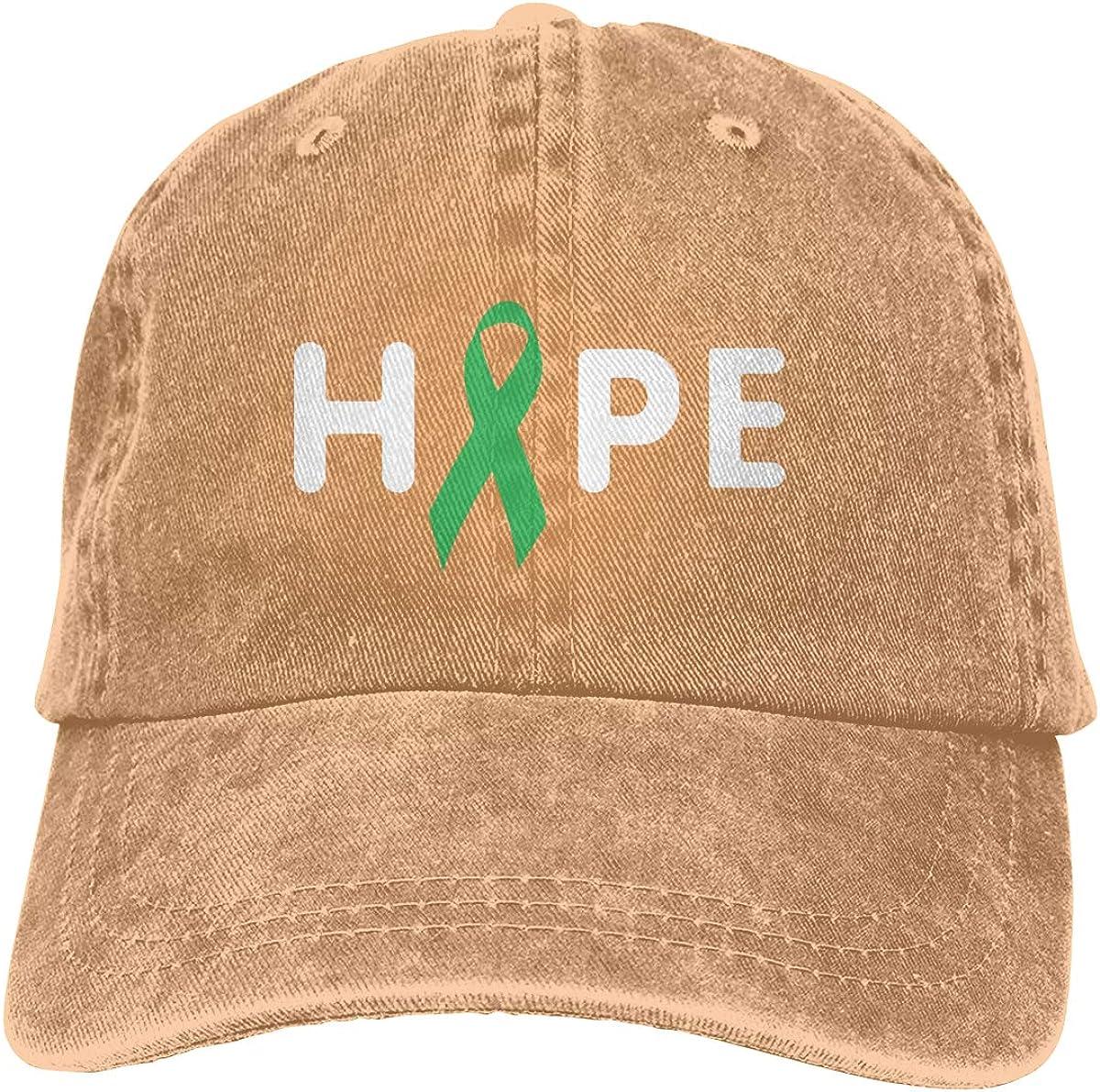Hope Unisex Custom Cowboy Hip Hop Cap Adjustable Baseball Cap