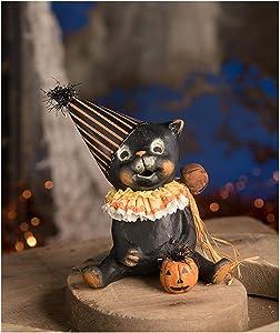 Bethany Lowe Jinx Black Cat Halloween Party Retro Vintage Home Decoration Figurine