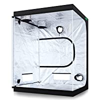 Grow Room 5×5 SuperCloset SuperRoom Hydroponic System Grow Tent Package