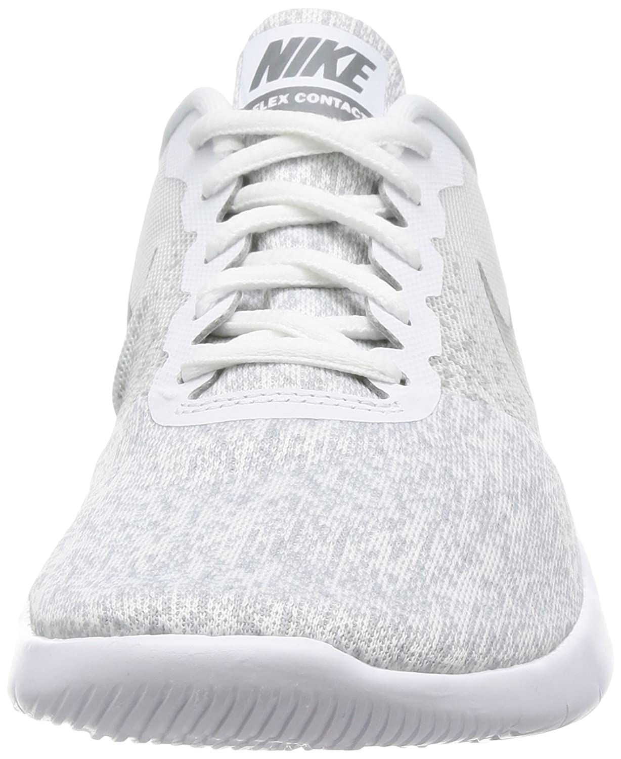 Zapatillas deportivas NIKE Womens Grey Flex Contact Blanco Wolf