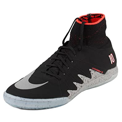 6827169edc20 Nike Mens Hypervenomx Proximo NJR IC Neymar Black Metallic Silver-Crimson  Synthetic Size 11