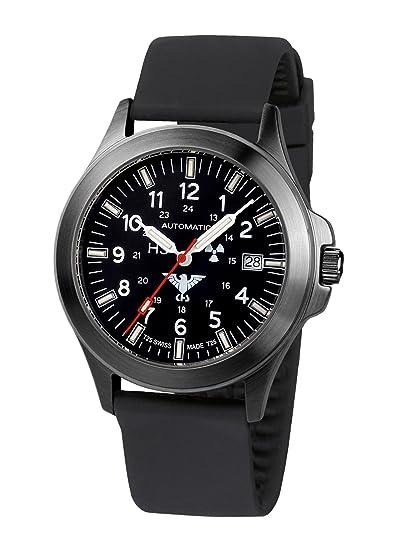 KHS Reloj Hombre Black Platoon Automática KHS.BPA.SB